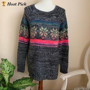 American Eagle Multicolored Jegging Sweater